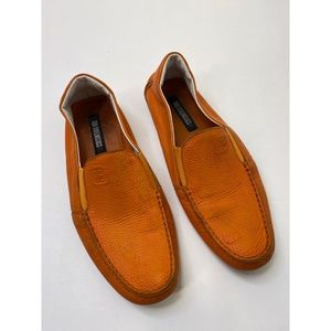 Dirk Bikkembergs Men's Loafer Shoes Brown Sz EU 43